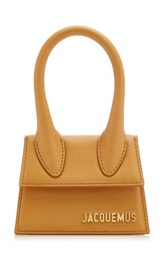 Le Chiquito Leather Top Handle Bag
