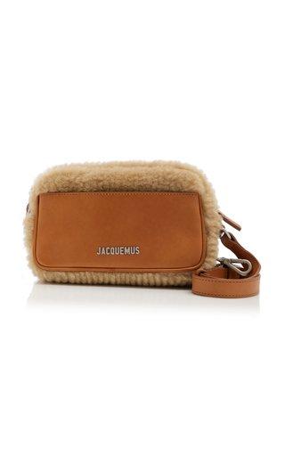 Le Baneto Shearling Crossbody Bag