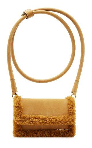 Le Rond Shearling Shoulder Bag