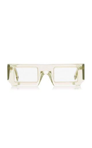 Les Lunettes Soleil Square-Frame Acetate Sunglasses