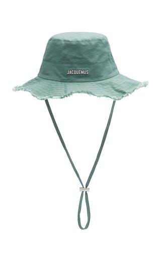 Le Bob Artichaut Frayed Cotton Bucket Hat