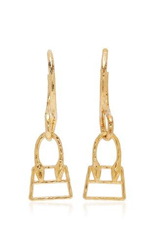 Les Creoles Chiquita Gold-Tone Earrings