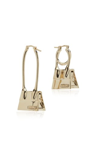 Les Creoles Chiquito Noeud Gold-Tone Earrings