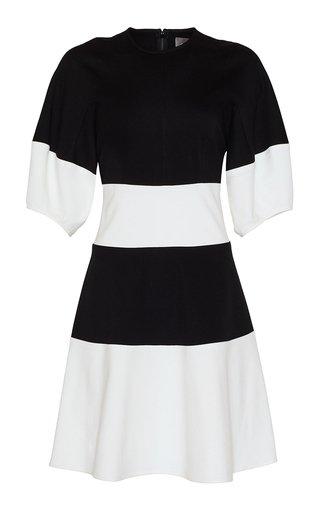 Jersey Seamed A-Line Dress