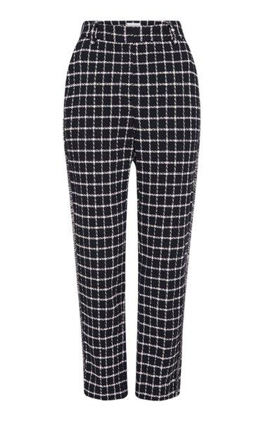 Cory Checked Cotton Pants