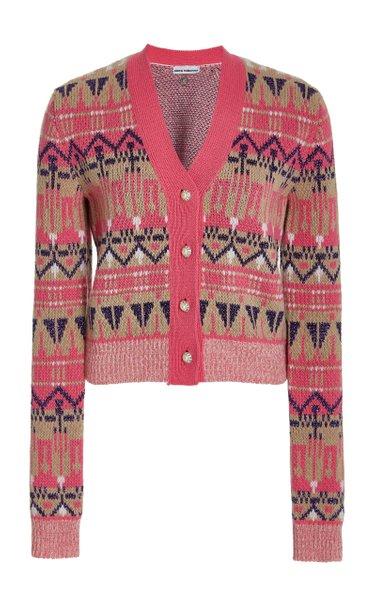 Fair Isle Wool-Blend Cardigan