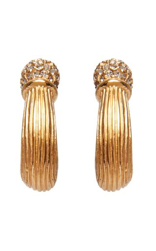 Thetis Large Gold-Plated Cuff Earring