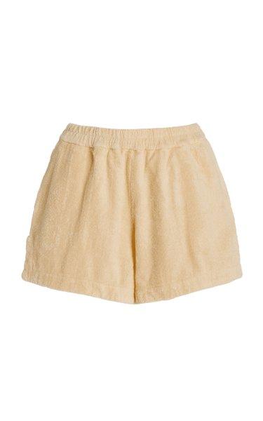 Estate Cotton-Terry Mini Shorts