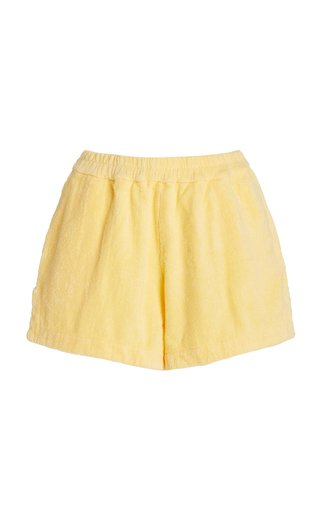 Estate Cotton-Terry Mini Shorts