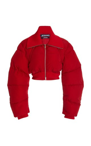 Pralu Cropped Down Shell Jacket