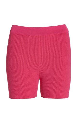 Le Short Arancia Knit Mini Shorts