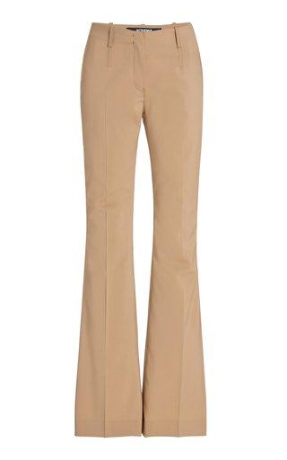 Le Pinu Stretch-Wool Flared Pants