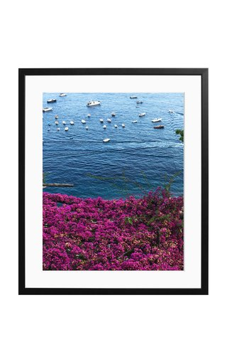 Large Colours of Positano Framed Photography Print