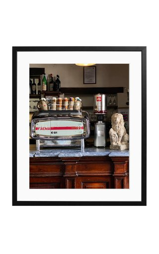 Large Trattoria del Leone Framed Photography Print