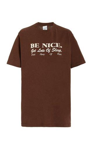 Be Nice Cotton T-Shirt
