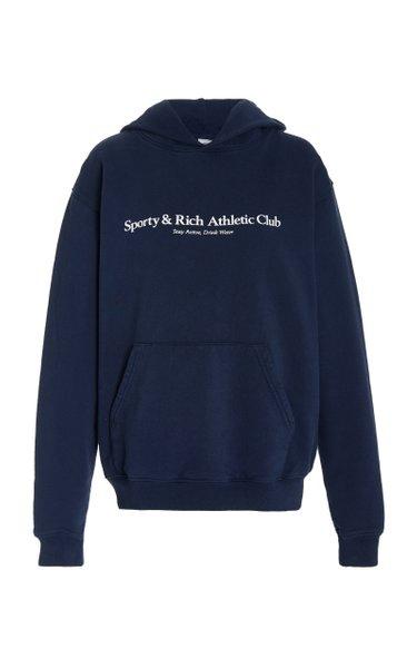 Athletic Club Cotton Hoodie