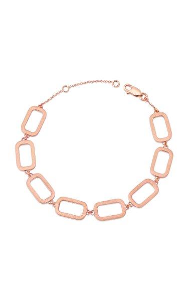 Rome 14K Rose Gold Bracelet