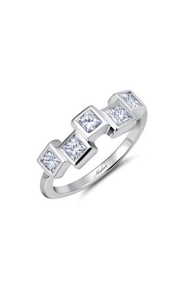 Mosaic Ice 18K White Gold Diamond Ring