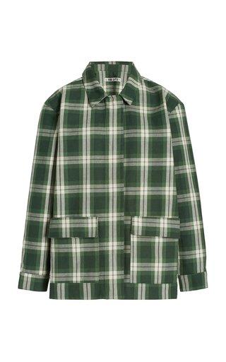 Felicity Plaid Cotton Jacket