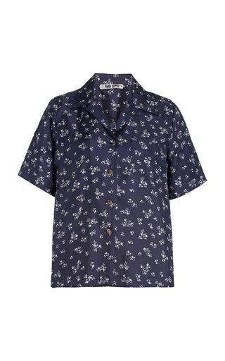 Hester Floral Silk Shirt