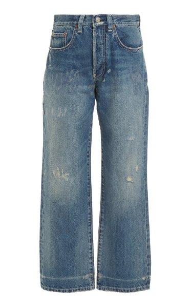Victoria Rigid High-Waist Jeans