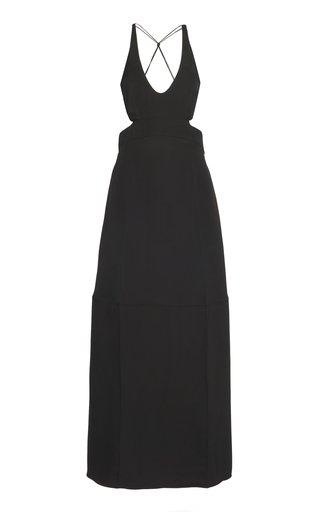 Cutout Jersey Maxi Dress
