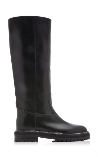 Yomi Leather Knee Boots