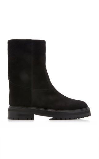 Yari Shearling-Lined Suede Boots