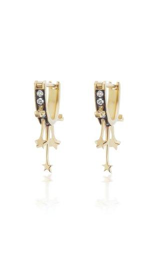 Le Stelle 18K Yellow Gold Diamond Earrings