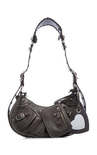 Le Cagole XS Leather Shoulder Bag