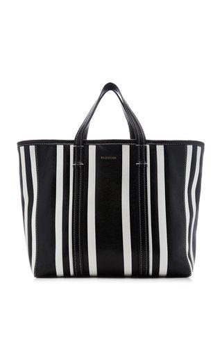 Neo Bazar Striped Leather Tote Bag