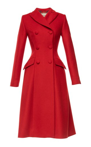 Lawrence Double-Breasted Wool-Cashmere Coat
