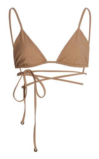 The Wrap Triangle Bikini Top