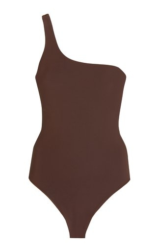 The One-Shoulder One-Piece Swimsuit