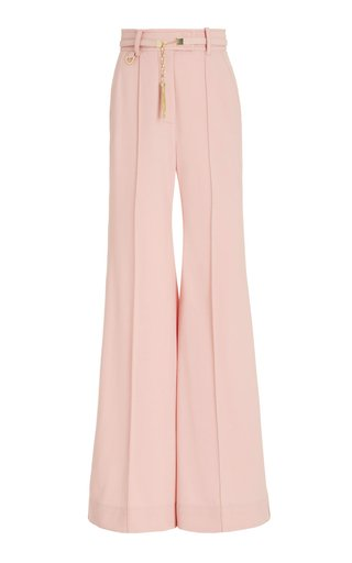 Concert Twill Flared-Leg Trousers