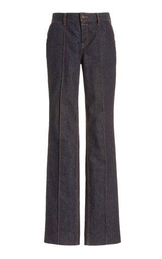 Concert Stretch Mid-Rise Stiletto Jeans