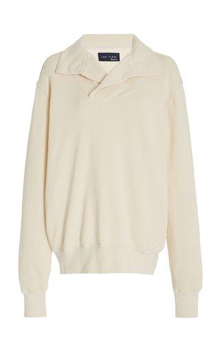 Lightweight Organic Cotton French Terry Yacht Sweatshirt
