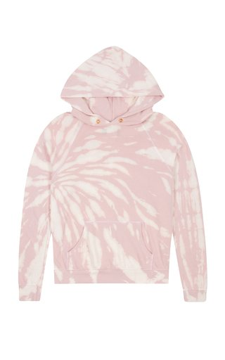Tie-Dyed Cotton Hoodie