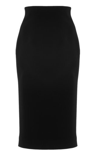 Signature Crepe Pencil Skirt