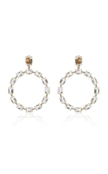Gossip 18K Yellow Gold Diamond Earrings