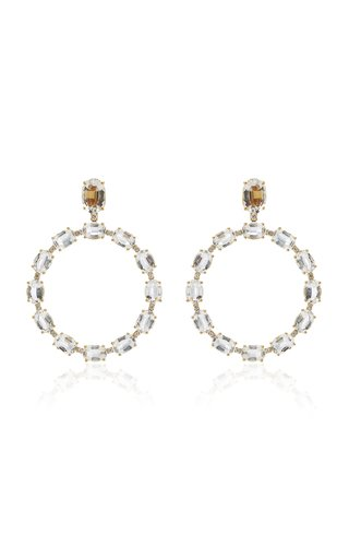 Gossip 18K Yellow Gold Diamond Earrings