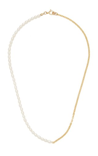 Effy Pearl Gold-Filled Necklace