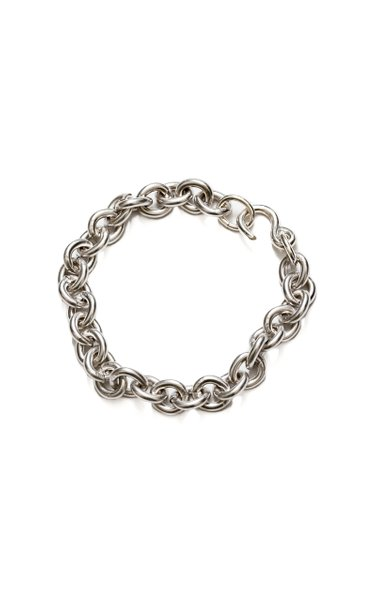 Marina Rhodium-Plated Chain Bracelet