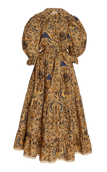Rosalind Printed Cotton Dress