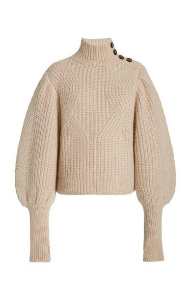 Alana Ribbed Alpaca-Blend Sweater