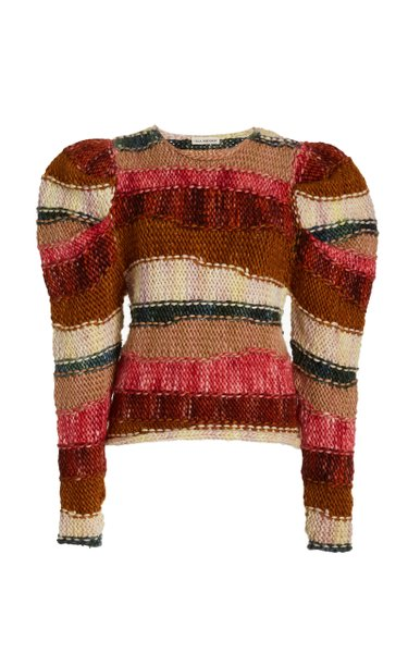 Violeta Striped Wool Sweater
