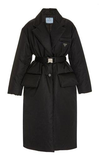 Oversized Nylon Down Coat