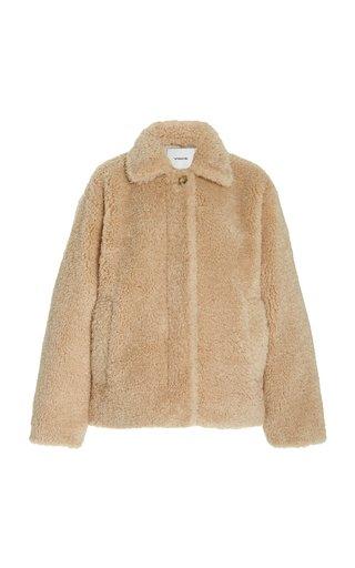 Textured Faux Fur Jacket