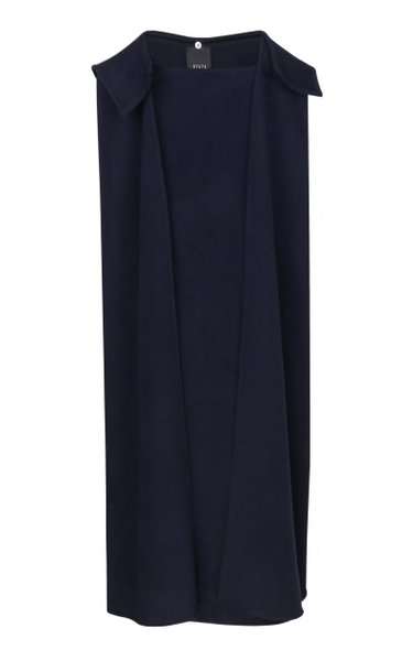 Structured Wool Cape
