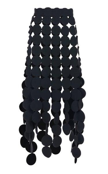 Detailed Crepe Maxi Skirt